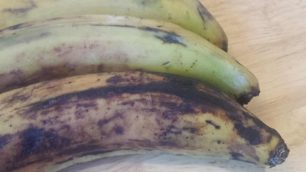 banane plantain, mûre, verte