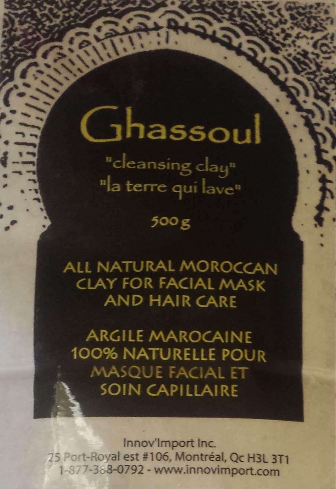 Ghassoul, rassoul