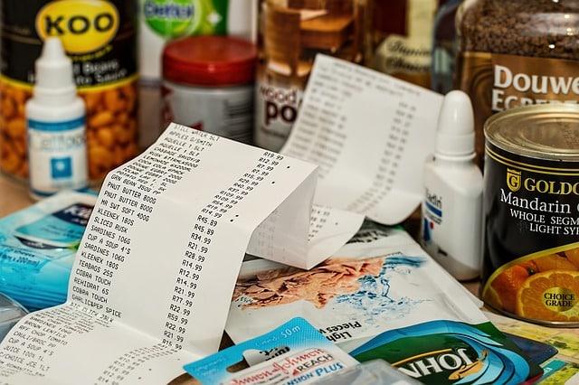 consommation, épicerie, marché