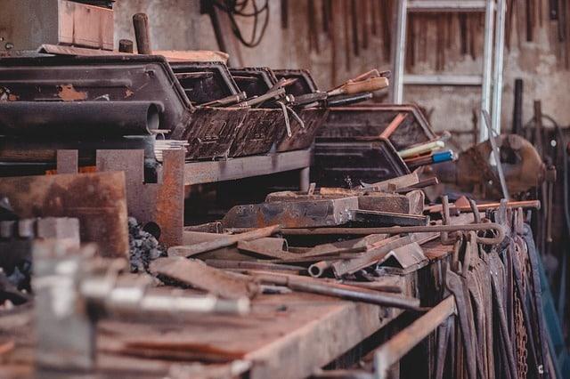 métallurgie, forgeron