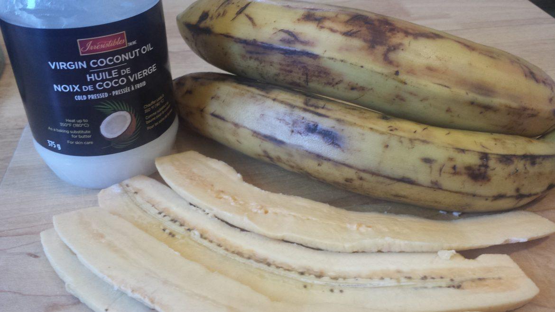 Ma d couverte de la semaine la banane plantain d part - Comment cuisiner les bananes plantain ...